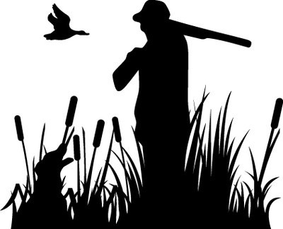 HUNT DECAL #HT5/190 GEESE DOG SWAMP MARSH GUN FLY REEDS CAR TRUCK AUTO SUV VAN
