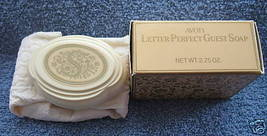AVON LETTER PERFECT GUEST SOAP LETTER S VINTAGE NM BOX - $12.46