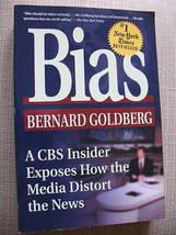 BIAS by Bernard Goldberg CBS INSIDER MEDIA CRITIC PB VG - $6.51