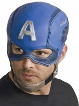 Captain America Mask Marvel Superhero Avengers Halloween Adult Costume Accessory - $25.69