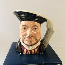 Royal Doulton Toby Mug 1975 Henry VIII Character Jug Limited 1975 England - $37.37