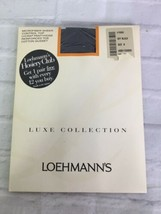 Loehmann's Luxe Collection Microfiber Sheer Control Top Pantyhose Off Bl... - $14.84