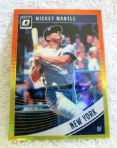 MICKEY MANTLE 2018 PANINI OPTIC O RAINBOW REFRACTOR CARD#165 PSA10?YANKE... - $29.69