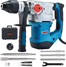 ENEACRO 1-1/4 Inch SDS-Plus 13 Amp Heavy Duty Rotary Hammer Drill, Safet... - $161.68