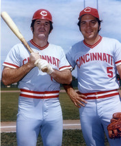 Pete Rose Johnny Bench Reds Vintage SA 18X24 Color Baseball Memorabilia ... - $35.95