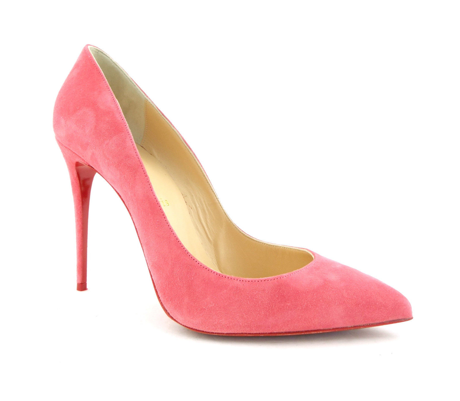 0fa319ac8149 CHRISTIAN LOUBOUTIN Size 8.5 PIGALLE FOLLIES Pink Suede Heels Pumps Shoes  39 -  479.00
