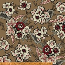 Carmen C. 1840-1875 Floral Windham premium 100% cotton fabric by the yard - $183,49 MXN