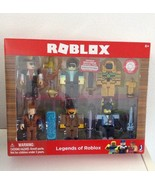 Legends of Roblox 6 Figure Set with Accessories & Virtual Game Code NEW - €14,25 EUR