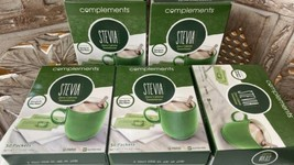 5 Stevia extract Compliments zero calorie sweetener 5 x 50 packets each - $11.88