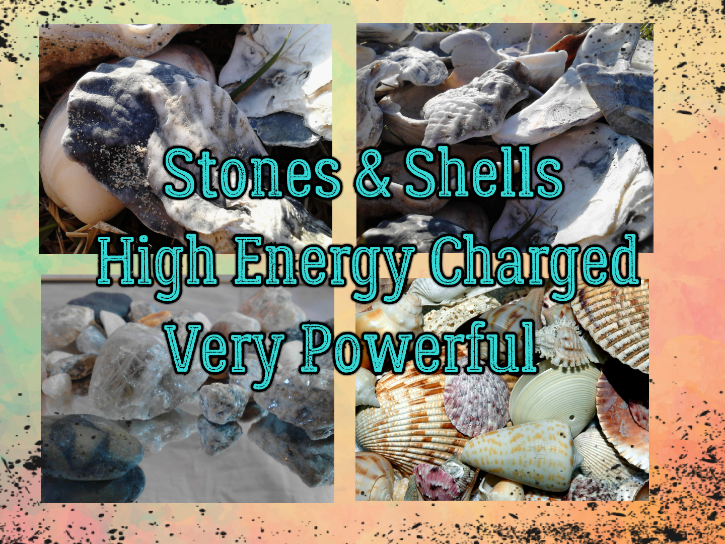 8 Powerful Sea Gems, High Energy Charged Shells & Stones