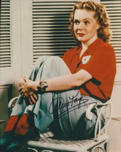 Alice Faye signed photo. Young! - $22.00