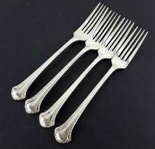 """1847 Rogers Bros BERKLERY 4 Dinner Forks 7-5/8"""" Silverplate Korea - $19.80"""