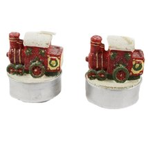train shaped tea light candle (set of 2) - $12.99