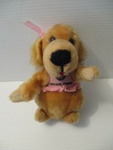 Dakin Crocker National Bank 1981 Cocker Spaniel Plush Dog Crocker Spanie... - $12.99