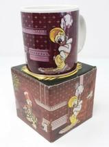 Vintage Disney Marquee Mug By Applause 1988 Donald & Daisy Flirting Coff... - $15.47
