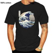 Kanagawa Japanese The great wave T shirt Men Size S-5XL - SHip From USA image 6