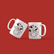 Vive La Difference - Hand Illustrated Coffee Mug - The Cat Series - $24.00