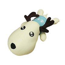 Inner Bamboo Charcoal to Clean Formaldehyde Car&Home Deer Toy Gift ,BLUE