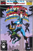 Captain America Annual Comic Book #10 Marvel Comics 1991 FINE+ - $2.50