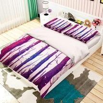 3D Purple Trunk 26 Bed Pillowcases Quilt Duvet Single Queen King US Lemon - $102.84+