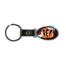 Non Metal Nfl Cincinnati Bengals Accent Key Ring By Rico Industries (Length=1.25 - $12.32