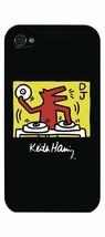 Case Scenario Keith Haring DJ iPhone 4/4S Clip-On Protective case