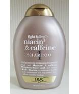 OGX Fight Fallout Niacin & Caffeine Shampoo 13 Oz Discontinued New - $59.40