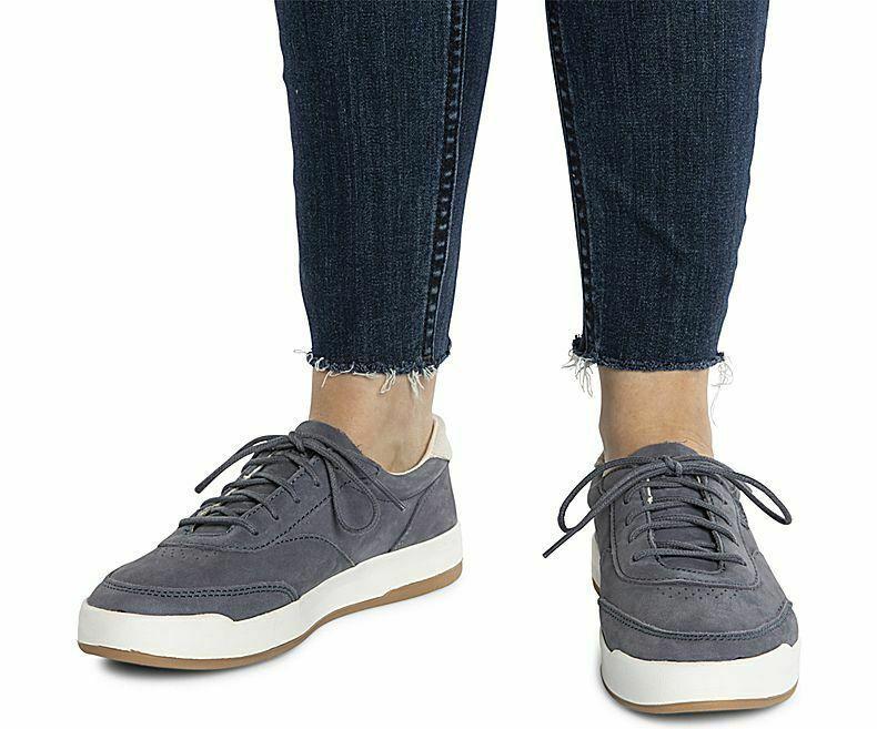 Keds WH59014 Women's Match Point Nubuck. Blue Shoes, 9 Med