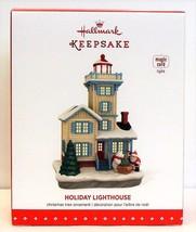 2015 Hallmark Holiday Lighthouse Christmas Ornament Series #4 Magic Cord - $54.90