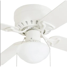 """PARTS - Harbor Breeze 44"""" Armitage White Ceiling Fan - CANOPY ONLY - $6.92"""
