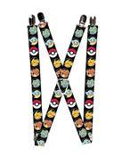 Pokemon - Pikachu / Bulbasaur / Poke / Charmander / Squirtle Logo Suspen... - $13.99
