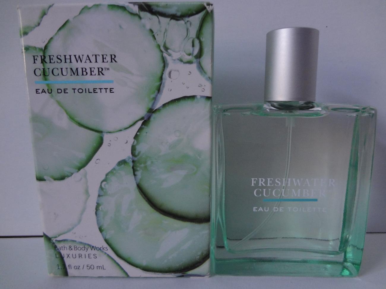 Bath & Body Works Luxuries Freshwater Cucumber Eau De Toilette 1.7 fl oz / 50 ml