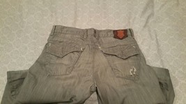 ROCK & REPUBLIC Men's Jeans HENLEE Boot Cut Sz 33 Distressed and Worn - $9.50