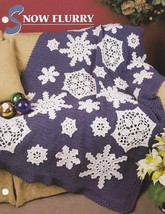Snow Flurry, Annie's Crochet Afghan & Quilt Pattern Club Leaflet QAC360-01 - $9.95