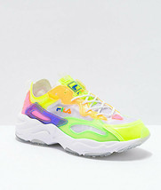 Neuf FILA Ray Tracer Rétro Translucide Chaussures Multicolore - $120.61