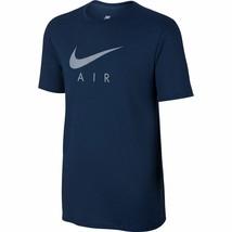 Nike Men's Nsw Tee Tb Air Hybrid Totem New Authentic Binary Blue 834692-429 - $24.99