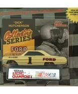 Racing Champions Superstars Dick Hutcherson #1 Nascar Car Toy '91 Ford F... - $7.20