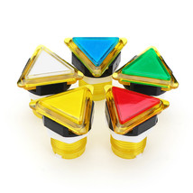 39x39x39 Triangle Direction LED Light Push Button for Arcade Game Consol... - $7.80
