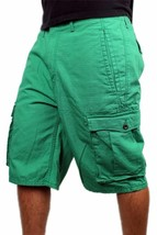 Levi's Men's Premium Cotton Cargo Shorts Original Relaxed Fit Green 124630032