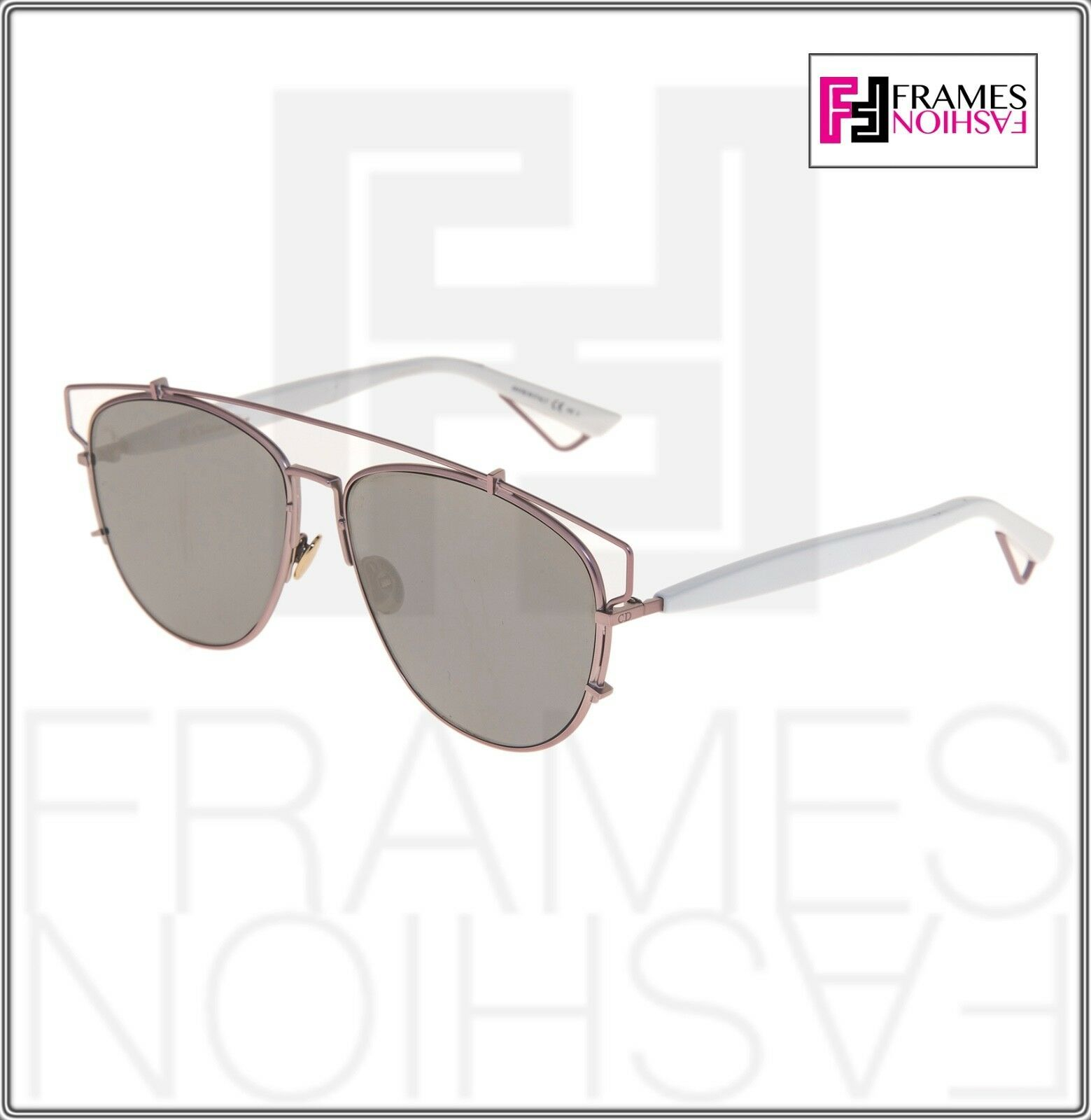 CHRISTIAN DIOR TECHNOLOGIC White Lilac Flash Mirrored Sunglasses DIORTECHNOLOGIC image 7