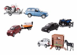 Diecast Car with Trailer Sets - $13.54+