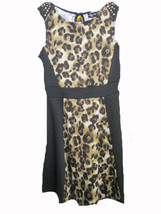 Ruby Rd Leopard print sleevess dress SIZE 10 - $9.85