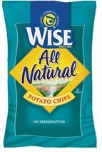 WISE FOOD GROCERY POTATO CHIPS ALL NATURAL 7 OZ... - $9.95