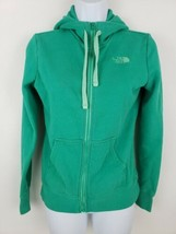 The North Face Zip Up Green Hoodie Women's Size XS - $25.24