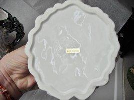 Santa Snowman Christmas Tree Cream & Sugar Collector Set Glazed Ceramic image 3