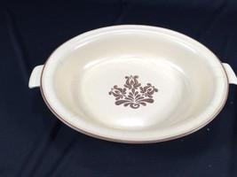 "Pfaltzgraff Village Pattern Casserole Dish With Handles 10"" x 8"" Oval - $8.99"