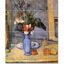 Paul Cezanne Flowers Painting Tile Murals BZ22211. Kitchen Backsplash Bathroom S - $300.00+
