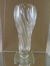 Vase Glass Design Vintage Josef Inwald Glassworks Design Rudolf Schrot R24 - $71.33