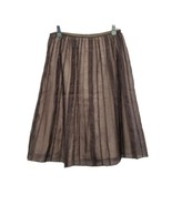 NIC & ZOE Skirt Brown Skirt Women Size 6 - $39.20