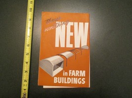Theres something NEW in Fam Buildings 1947 poster Quonset military Navy - $6.99